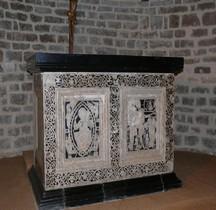 Hérault St Guilhem le Désert Abbatiale Autel