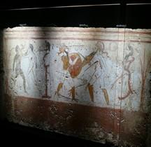 Grande Grèce Lucanie Paestum Tombe Duel en l'honneur du mort Nimes 2018