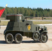 Broneavtomobil 3 M BA 3M Kubinka