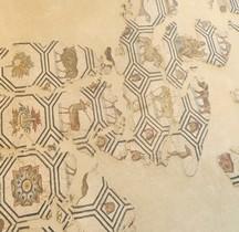 Mosaïque Rome France St Romain en Gal Mosaique d'Orphée