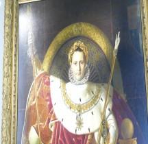 Peinture XIXe Paris Invalides  Napoleon Ie Ingres