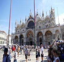 Venise Basilica san Marco Exterieur