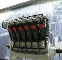 Moteur Liberty V12 Duxford