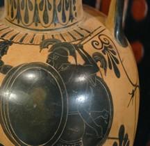 Grèce Attique Amphore aux Hoplites Mougins