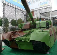 Ukraine T 84 Oplot M Eurosatory 2012