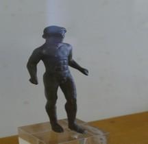 Etrurie Statuette Bronze Homme