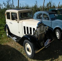 Citroën 2 CV Rosalie Moteur Flottant 1934