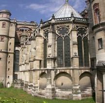 Yvelines St Germain en Laye Le Chateau La Sainte Chapelle