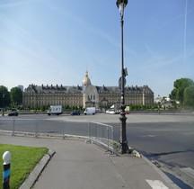 Paris Invalides Esplanade des Invalides