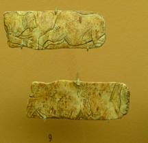 1.4.5 Paléolithique supérieur Magdalénien Gravures Diveres St Germain en Laye MAN