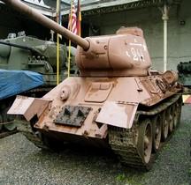 T 34/85 tourelle 1944 Bruxelles