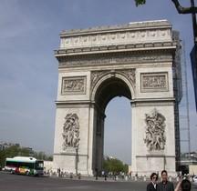 Paris Arc de triomphe de l'Etoile Projet Jean-François Thérèse Chalgrin