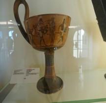 Grèce Atttique Céramique Cyathe Kyathos Rome SCV