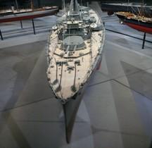 Cuirassé HMS Hercules 1910 Maquette Londres