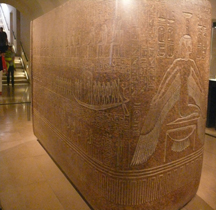 Egypte Sarcophage de Ramsès III France Paris