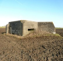 01 SF Flandres SS Flandres B64 Blockhaus Maison Pauvres Hondschoote Nord