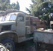 GMC CCKW 353.2 Air Compressor Truck Leroi Cabine Tolée Montpellier