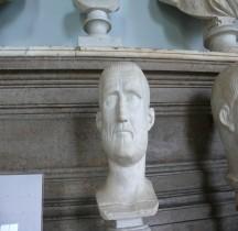 Statuaire 6 Empereurs.23 Probus Rome Musei Capitolini