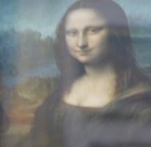 Peinture Renaissance La Joconde Leonardo Da Vinci Paris Louvre