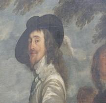 Peinture.XVIIe Le Roi à la Chasse Antoine Van Dick 1635 Paris Louvre