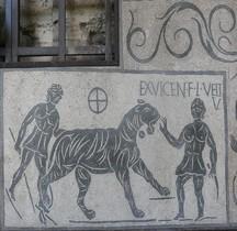 Mosaïque Rome Italie Venationes Amphithéatre Flavien Rome