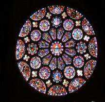 Eure Chartres Cathédrale Notre Dame Intérieur