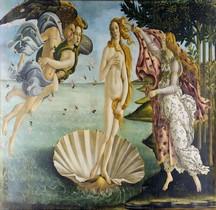 Peinture Renaissance Nascita di Venere Sandro Botticelli Florence  Les Offices