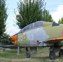 Aeritalia Fiat G.91 T Scuola Avanzata Aviogetti Rimini