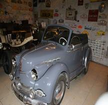 Panhard Dyna X cabriolet 1950 Montcalm Gard