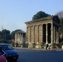 Rome Rione Ripa Forum Boarium Temple Portunus
