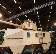 VAB Mark III Weapon System Carrier Eurosatory 2016
