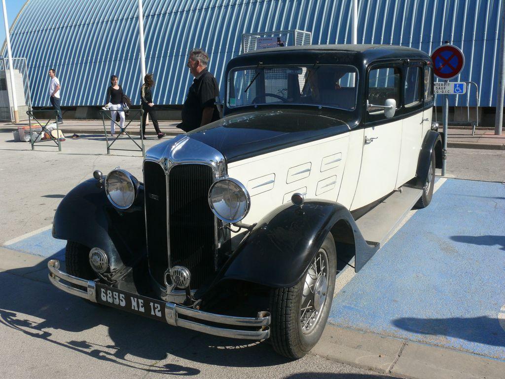Berliet Dauphine 11 CV Familiale 1935  Palavas