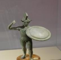 Etrurie Laran Statuette Bronze Florence