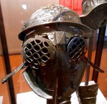 Gladiateur Provocator Casque Pompéï Naples