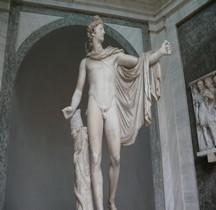 Statuaire Panthéon Apollon du Belvedere Vatican