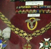 1936 Flugzeugführer und Beobachterabzeichen Badge Pilote Observateur Londres