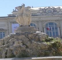Hérault Montpellier Place Comedie Trois Graces