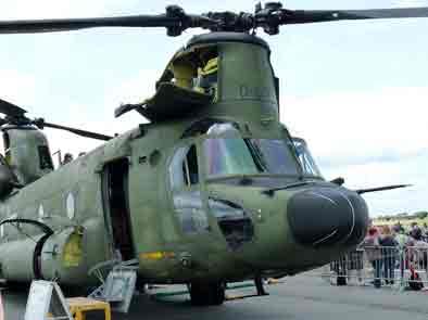 Boeing CH-47 D Chinook Florennes 2012
