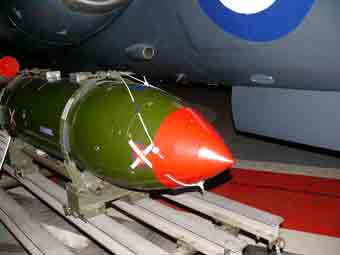 Bombe Nucleaire WQE 117A Yeovilton
