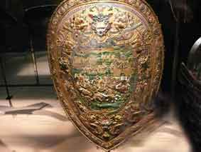 1572 Bouclier Charles IX Les Invalides