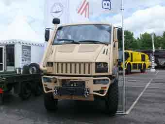 Bremach T rex Eurosatory 2012