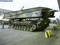 Léopard 1 Brückenleger mit Panzerschnellbrücke