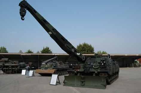 Léopard 2 Bergepanzer 3 Buffel  Treves
