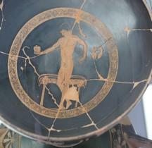 Grèce Attique Céramique Kilix  Peintre Antifonte  Athlete  Ferrare