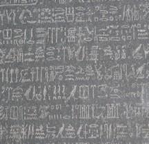 Egypte Pierre de Rosette Londres