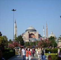 Turquie Istanbul Hagía Sophía