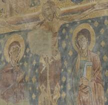 Haute Loire Puy-en-Velay  Cathédrale Notre-Dame-de-l'Annonciation  Salle Capitualire Crucifixion