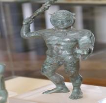 Statuaire Divinités Herclé Statuette Bronze  Bologne