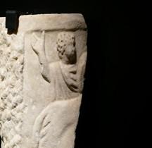 Statuaire Bas relief Bestiarius  Rome Museo nazionale