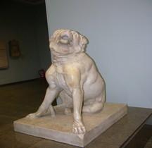 Statuaire Faune Molosse Jenning Dog Londres BM